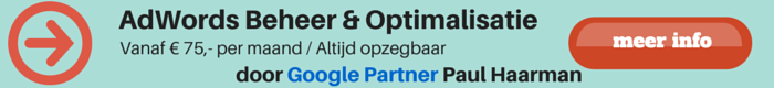 AdWords Beheer & Optimalisatie
